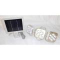 RITEX 5W×3灯 フリーアーム式LEDソーラーセンサーライト:S-90L<ライテックス・ムサシ>