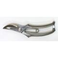 おの義刃物本舗 高級特殊ステンレス鋼F型剪定鋏 <鏡面仕上げ> 200mm SSF-200-2