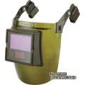 【送料、代引手数料無料】 トーヨー  自動遮光溶接面(ヘルメット取り付け型) NO.7651