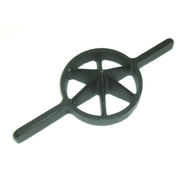 両手竹割り器(鋳物製)内径約130mm 中6ッ割