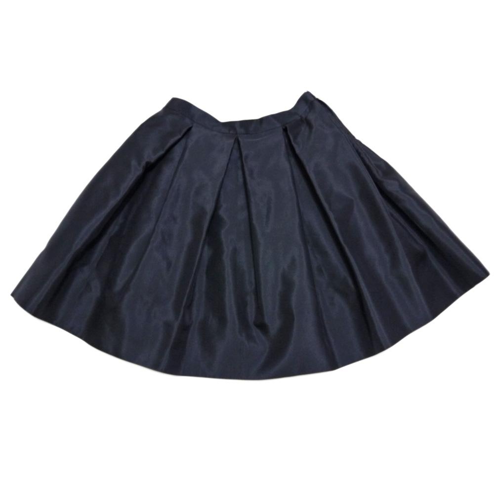 プラダ フレアースカート 黒 #46 PRADA