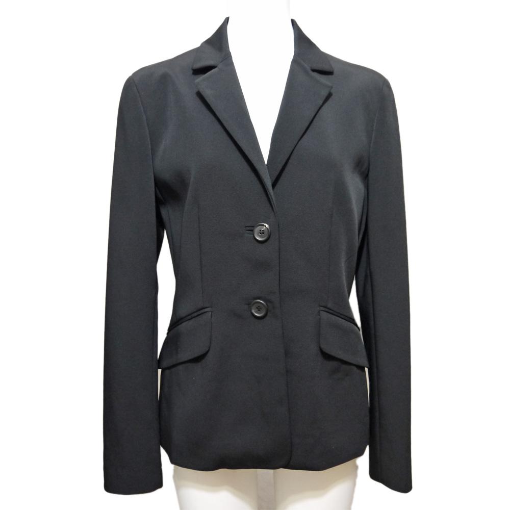 プラダ ナイロン テーラードジャケット 黒 #40 PRADA