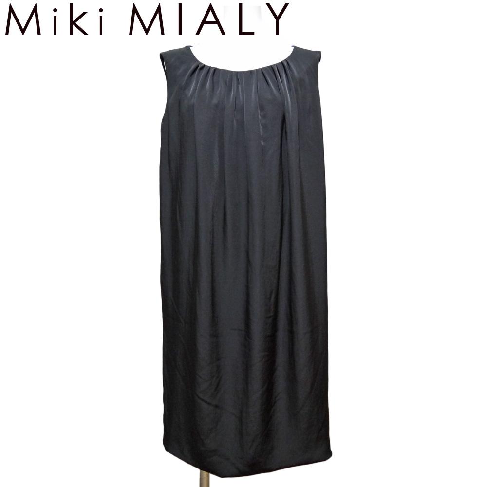 ミキミアリ エッグシェルワンピース 黒 #34 Miki MIALY