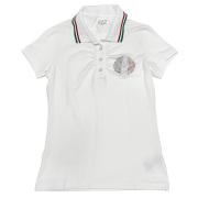 エンポリオアルマーニ EA7 ポロシャツ 白 #XS EMPORIO ARMANI