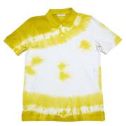 プラダ メンズ 鹿の子 ポロシャツ 黄色 #M  PRADA
