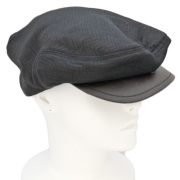 プラダ メンズ ハンチング帽子 濃茶 PRADA
