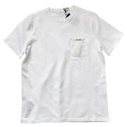 プラダ メンズ シンプル クルーネックTシャツ 白 #M  PRADA