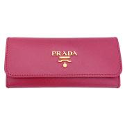 プラダ サフィアーノレザー ロングキーケース ピンク(PEONIA)  1M0223 PRADA