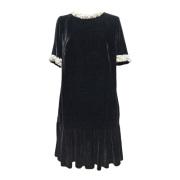 ブルーガール パール 半袖ワンピース 黒 #38 blugirl