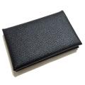 エルメス メンズ レザーカードケース(名刺入れ) Calviカルヴィ 黒 HERMES