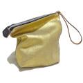 マルニ レザー クラッチバッグ(セカンドバッグ) ゴールド MARNI