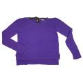 ミュウミュウ カシミア100% セーター 紫 #40 miu miu