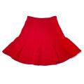 ミュウミュウ ウール フレアースカート 赤 #38 miu miu