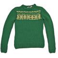 ミュウミュウ 極太ニット ざっくりセーター 緑 #40 miu miu