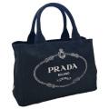 プラダ カナパ(CANAPA) ショッピングトートバッグ ミニサイズ 黒 1BG439 PRADA