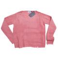 プラダ モヘア クルーネックセーター ピンク #42 PRADA