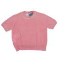 プラダ 半袖セーター ピンク #38 PRADA