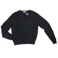 プラダ Vネックセーター 黒 #38 PRADA