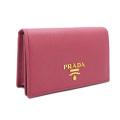 プラダ サフィアーノレザー カードケース(名刺入れ) ピンク(BRUYERE) 1MC122 PRADA