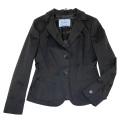 プラダ コットン テーラードジャケット 黒 #40 PRADA
