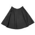 プラダ シルク フレアースカート 黒 #40 PRADA