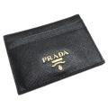 プラダ サフィアーノレザー パスケース(カードケース) 1M0848 黒 PRADA