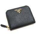 プラダ サフィアーノレザー コインケース 黒 1M0268 PRADA