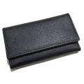 プラダ メンズ サフィアーノレザー 6連キーケース 黒 2PG222 PRADA