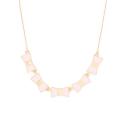 ケイトスペード リボンネックレス(bow shoppe row necklace)ピンク kate spade