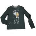 ルシアンペラフィネ 男女兼用 Jean-Michel Basquiatコラボ ニット チャコール #M lucien pellat-finet
