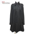 レッドヴァレンチノ お嬢さんっぽい ウールコート #40 黒 RED VALENTINO