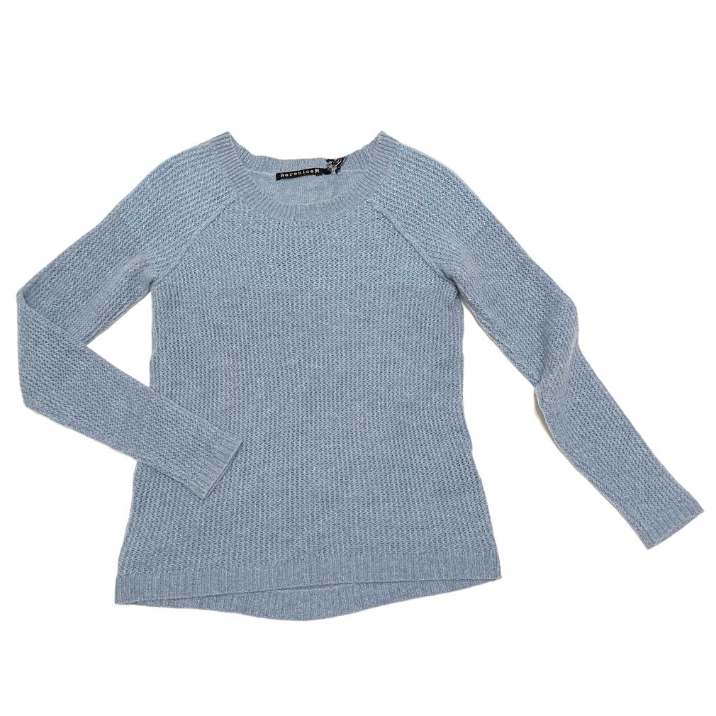 ベルニーチェ カシミア100%セーター ペールブルー #XS Bernice