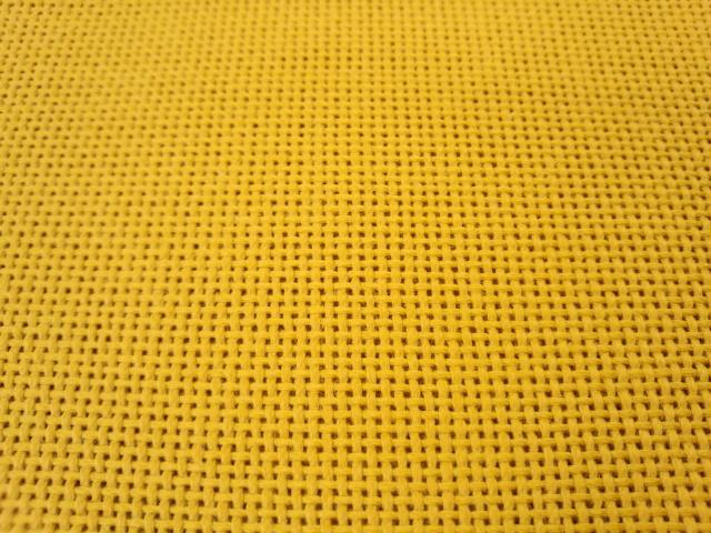 コングレス こぎん布 黄土色
