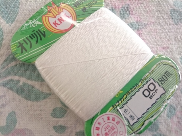 オリヅル 絹 手縫い糸