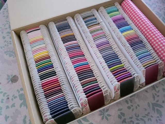 都羽根 絹 手縫い糸 全色