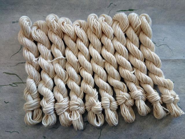 こぎん 糸 綿糸 12本