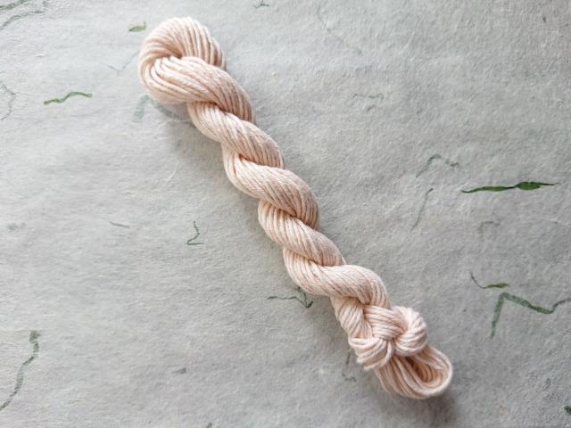 桜 染 糸