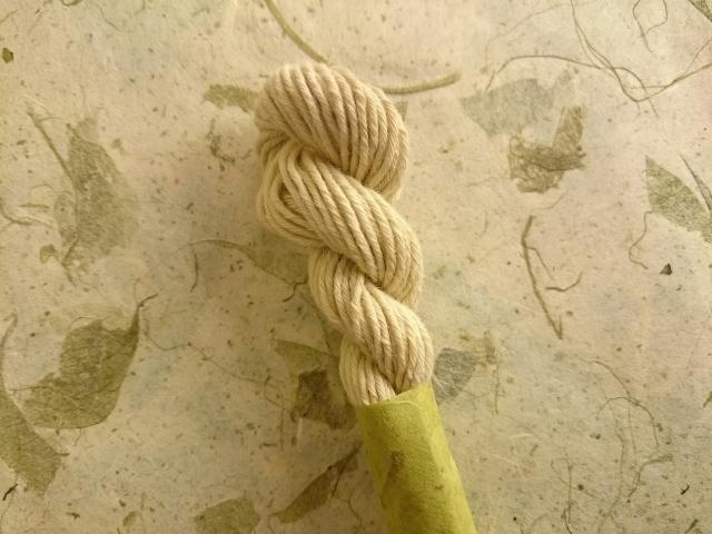 せとうち オリーブ 染 糸