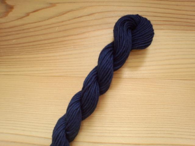 本藍染め 糸