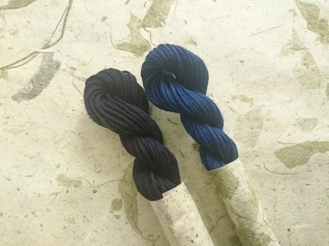 インド藍 インジゴ 藍色