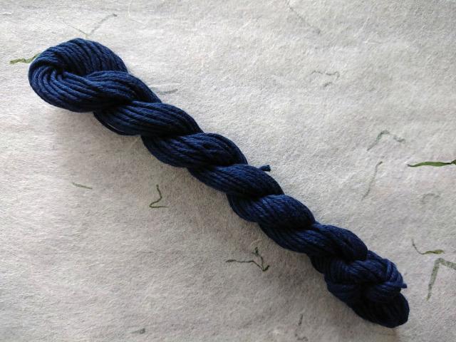 インジゴ 藍 染 糸