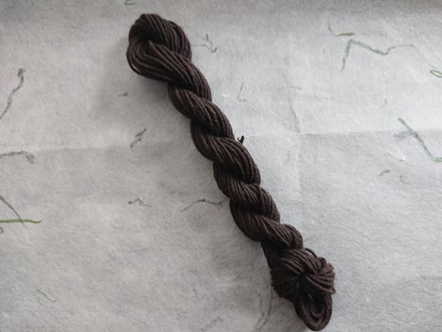 奄美 泥 染め 糸