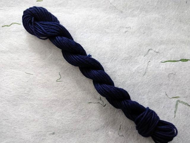 阿波 藍 染 糸