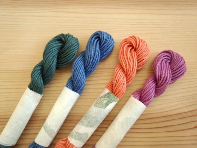 草木染 糸