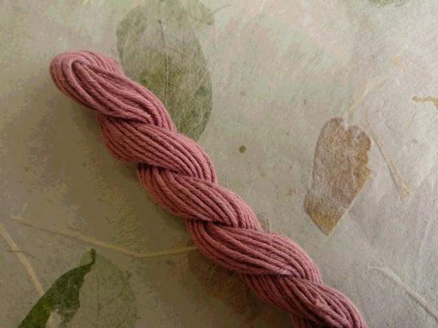 泥染 テーチギ 糸
