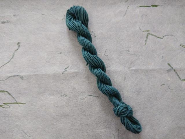 越後路 草木染め 糸
