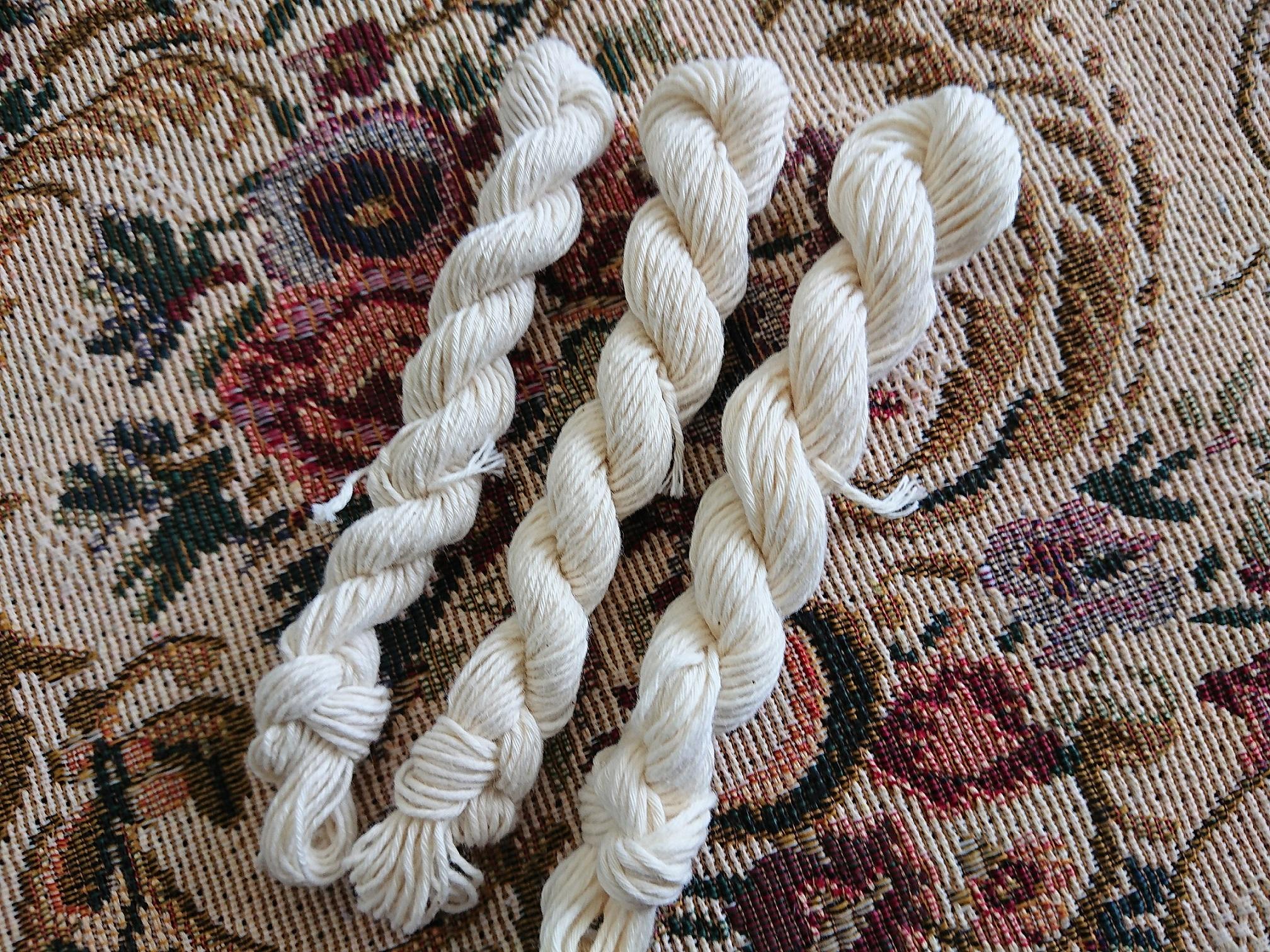 綿糸 16m 3かせ