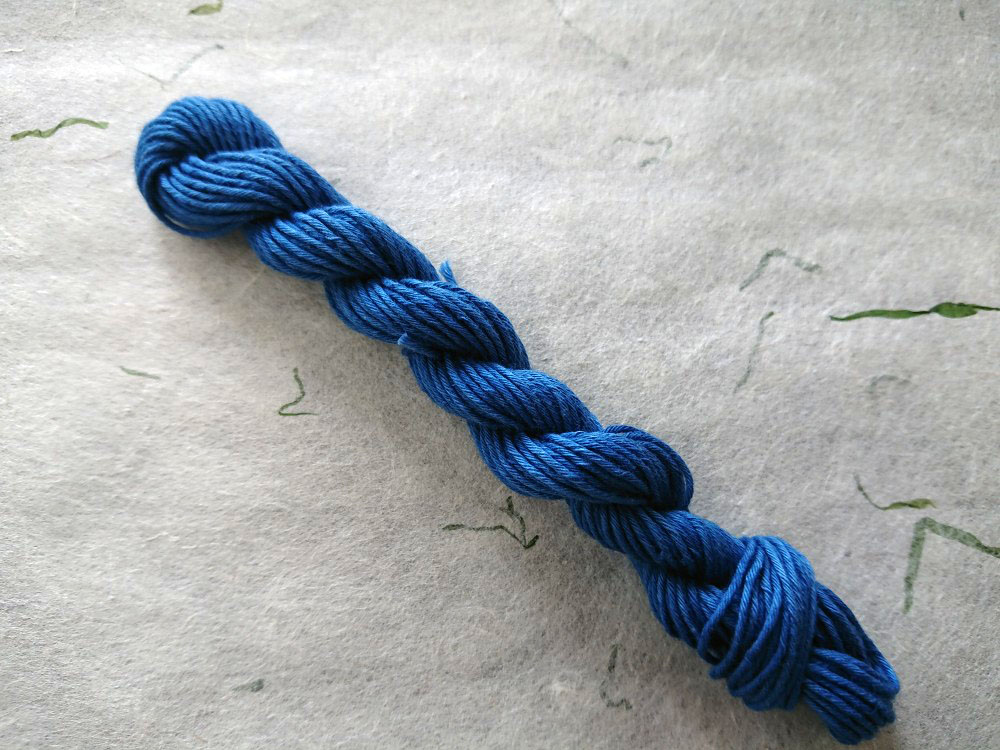 インジゴ 染 糸