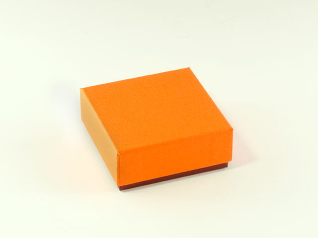 フェザーケース オレンジ 4仕切