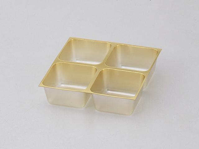 チョコレート 4ヶ ゴールド (10枚入)